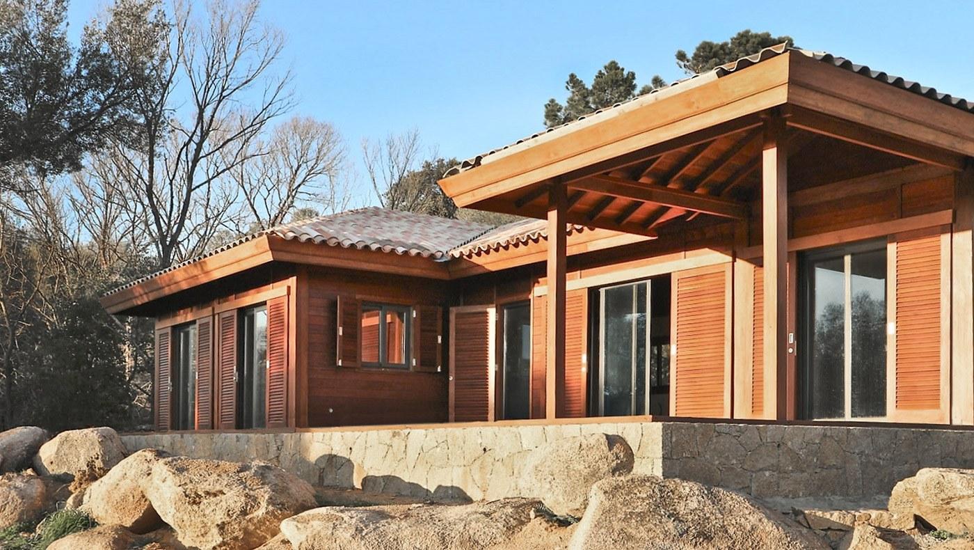 Maisons Bois En Kit Mobiteck Constructeur De Maisons En Teck