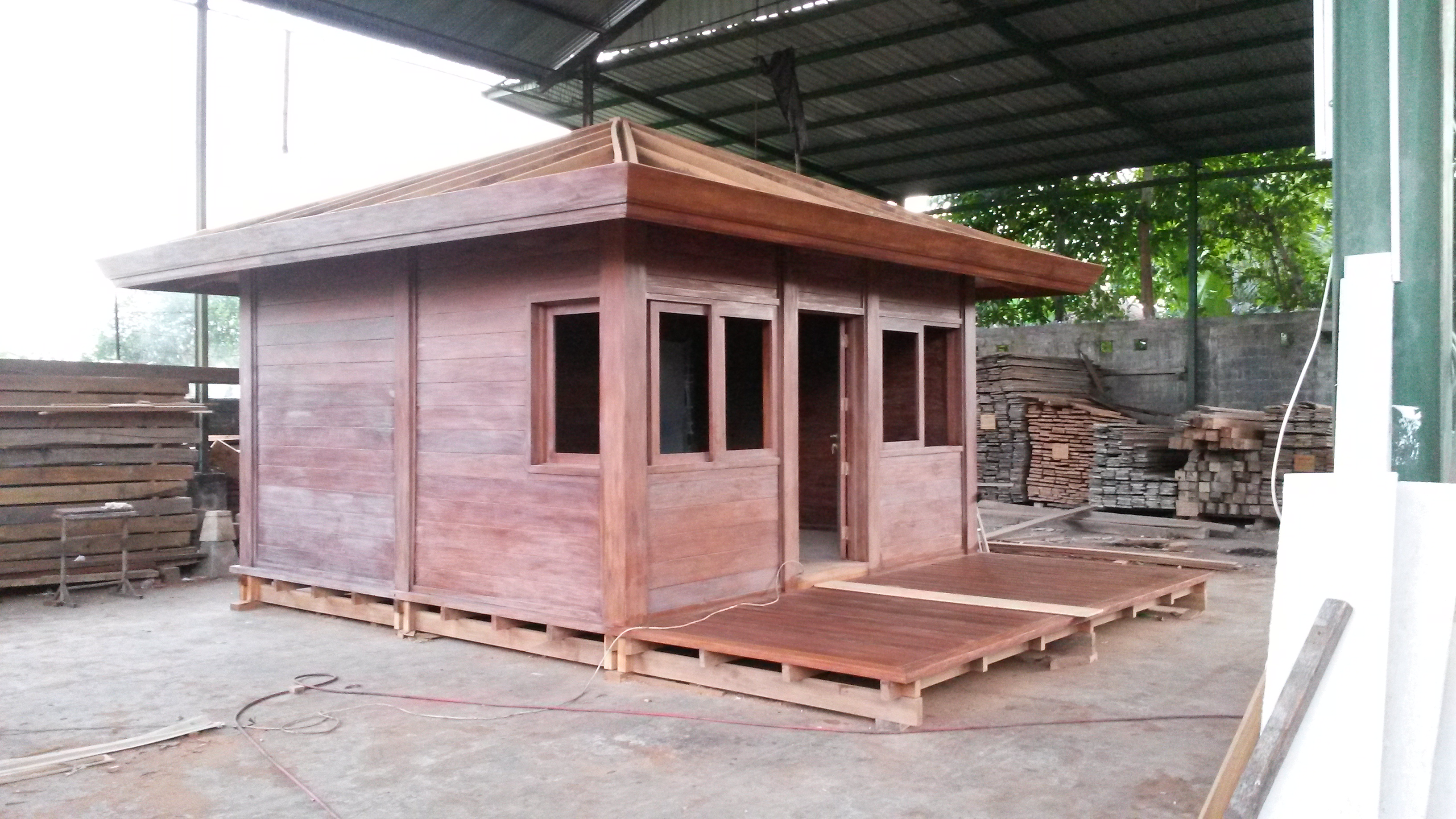 Faire construire bungalow guadeloupe for Bungalow en bois
